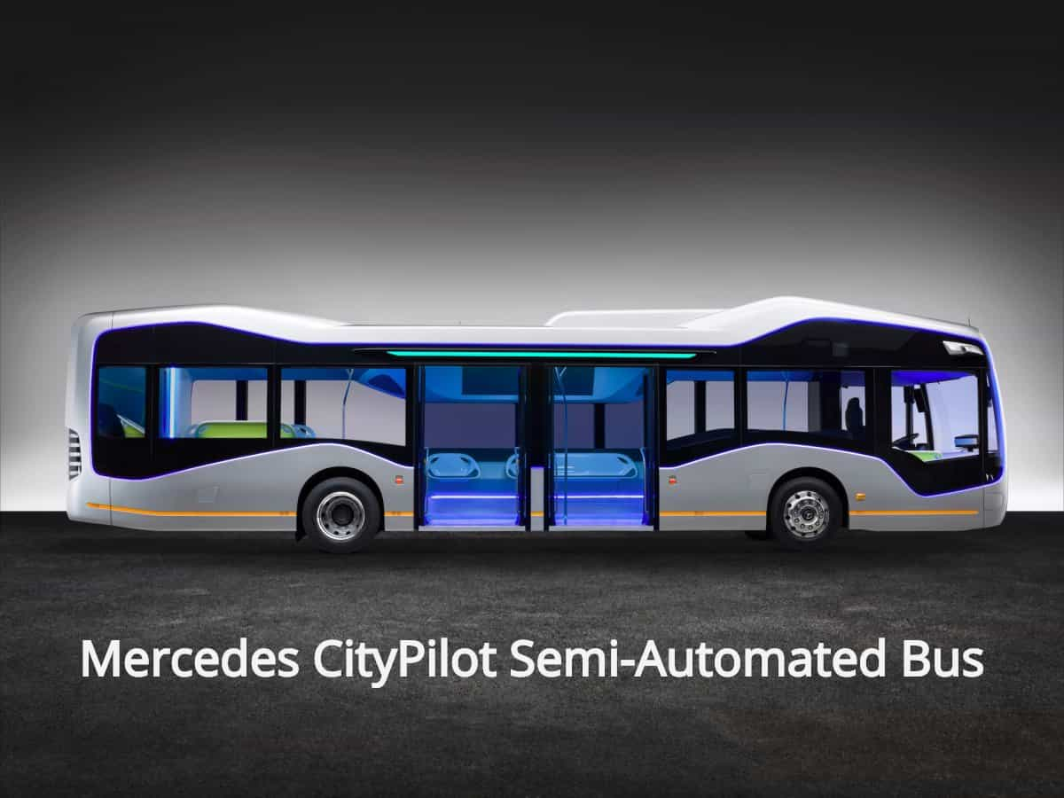 Mercedes-Benz Future Bus with CityPilot