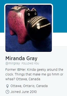 twitter miranda gray