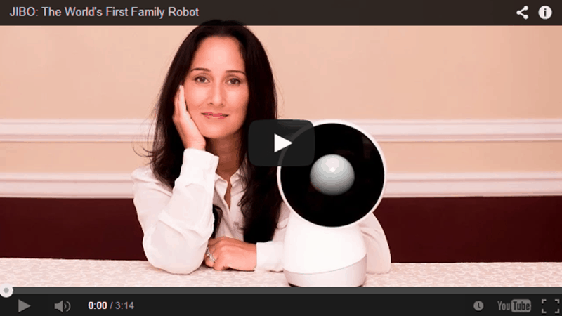 Jibo. The First Real Family Robot