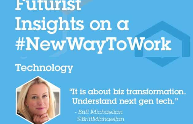 Futurist Insights on a New Way to Work